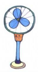 电风扇简笔画