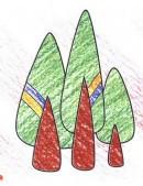 树木简笔画