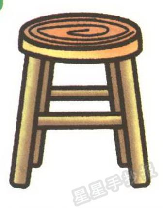 凳子简笔画