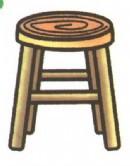 凳子简笔画怎么画