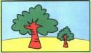 大树简笔画