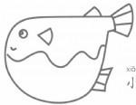 小丑鱼简笔画