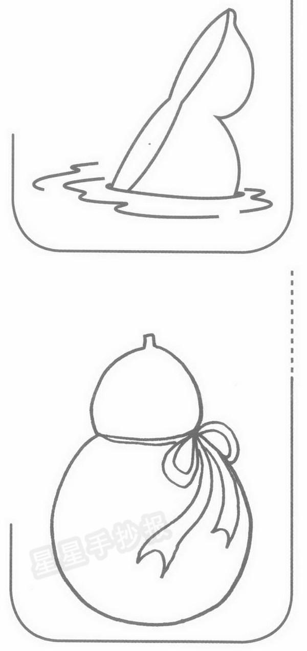 葫芦简笔画