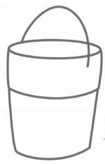 木桶简笔画怎么画