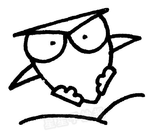 猫头鹰儿歌和简笔画教程