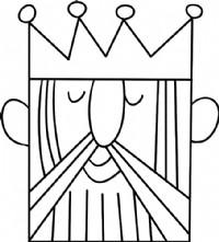 国王简笔画图片教程