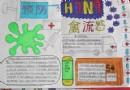 防治防控h7n9手抄报图片