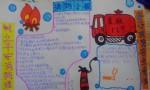 小学生消防手抄报图片、内容