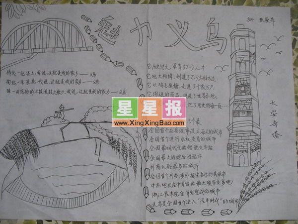 春天的故事小报,小学生爱眼手抄报图片,高中英语手抄报——traveller